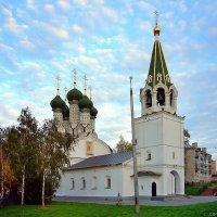 Церковь Успения на Ильинской горе (1672 г.) в Нижнем Новгороде :: Денис Кораблёв