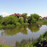 Небольшой  пруд  в  Чукаливке :: Андрей  Васильевич Коляскин