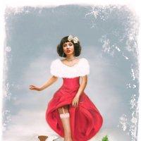 Новогодний пин ап :: Ирина Полунина