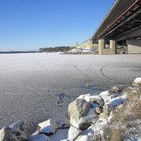 10  11 2015 г. замёрзла река Бердь . :: Мила Бовкун
