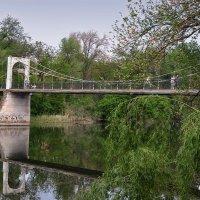 Подвесной мост через реку Ингулец. :: Александр Л......