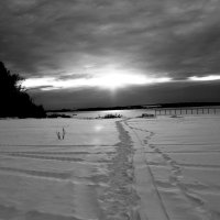 Кама встала пришла зима :: petyxov петухов