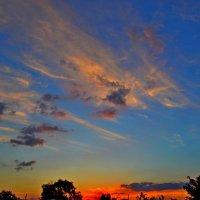 Зарево на небе :: Виктор Шандыбин