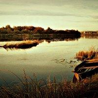 закат на реке Юг :: ВладиМер