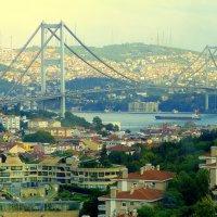 Стамбул. Первый Босфорский мост. :: Игорь