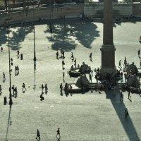 Римские каникулы. Пьяцца дель Попполо от виллы Боргезе. View of Piazza del Poppolo from Villa Borghe :: Юрий Воронов