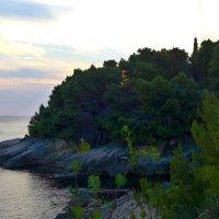 Закат на море :: Светлана Игнатьева