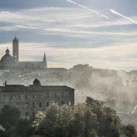 fog in Tuscany :: Dmitry Ozersky