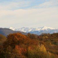 Зима за горами :: valeriy khlopunov