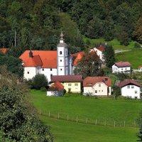 Миноритский монастырь Олимье(Словения) :: Евгений Дубинский