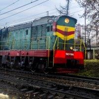 Прибытие поезда :: Константин Тимченко
