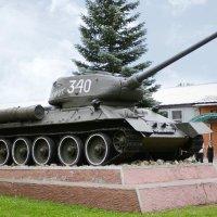 "ТАНК  Т-34  ""Полярник"" :: Олег Савин"