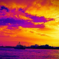 Порт Гамбурга :: Nina Yudicheva