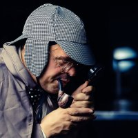 Шерлок Холмс :: Aнатолий Бурденюк