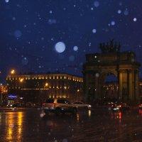 Снегопад в Петербурге.... :: Tatiana Markova