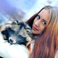 Дама с ... енотом ! :) :: Павел Прозоров