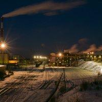 Индустриальный пейзаж... :: Sergey Apinis