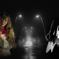«Горят ночные фонари ...» :: vitalsi Зайцев