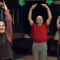 Наталия Ходыкина - Репетиция танцевального коллектива :: Фотоконкурс Epson