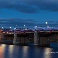 г. Тверь, Нововолжский мост :: Владислав Лопатов