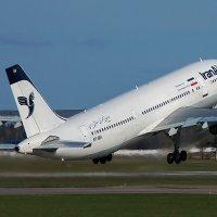 29 апреля 2013 года. Взлет Airbus  A300-605R № EP-IBA авиакомпании Iran Air. Минск-2 (UMMS) :: Сергей Коньков