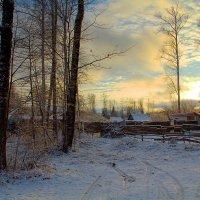 А ночью выпал снег... :: Вячеслав Минаев