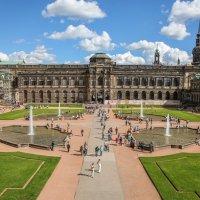 Дворец Цвингер. Дрезден. :: Владимир Леликов