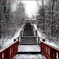 Лестница к водопаду :: Вера
