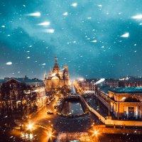 Первый снег . Спас :: Антон Рыбкин