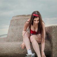 Девушка на роликах :: Александр Ивашков