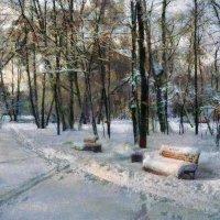 Занесённая снегом - 3. :: Василий Ярославцев