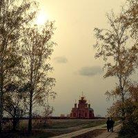 Дорога к храму :: Сергей С