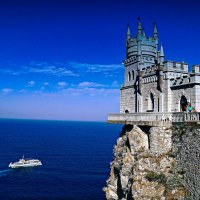 Там где море встречается  с небом... :: Александр Ковальчук