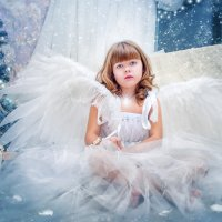 Снежный ангел. :: Ольга Егорова