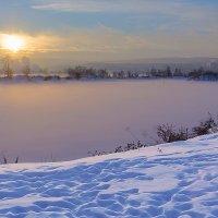 Вечер туманный :: Анатолий Иргл