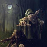 Страшные сказки. Духи леса. Баба-Яга. :: Анжелика
