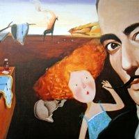 сальвадор дали с рисунками Евгении Гапчинской :: Galina Belugina