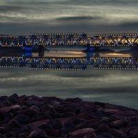 восход над мостом :: Valdis Veinbergs