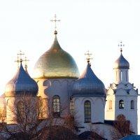 Закат над Волховом :: Алексей Корнеев