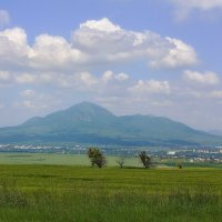 Луга гора и город... :: M Marikfoto