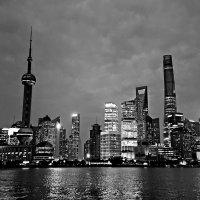 Шанхай в монохроме :: Tatiana Belyatskaya