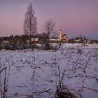 Тишина заоколичная... или Перед морозной ночью... :: Roman Lunin