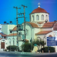 Крит.Ираклион из окна автобуса :: Юлия Широкова