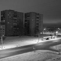 Ночной город(вид с балкона)2 :: николай постернак