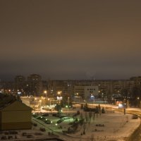 Ночной город(вид с балкона) :: николай постернак