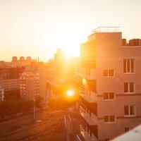 Один из летних рассветов в Новосибирске :: Илья Танаев