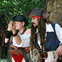 Пираты в поисках сокровищ. :: Юлия Малышева