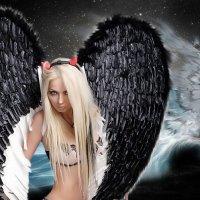 Ангел с душой хищника :: Сергей