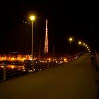 Пешеходный мост через Волхов :: Алексей Корнеев