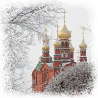 Храм в честь Образа Спаса Нерукотворного :: Андрей Козлов